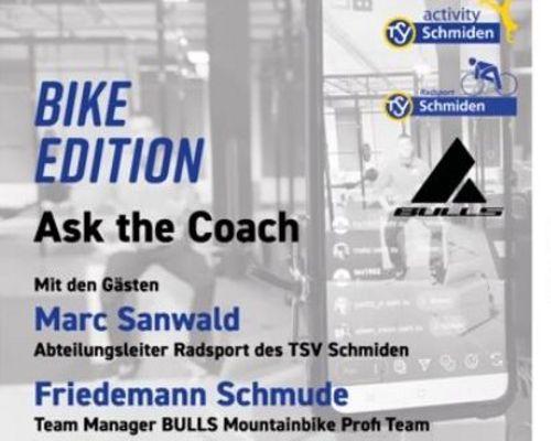 Ask the coach #7: Bike Edition mit Marc Sanwald und Friedemann Schmude